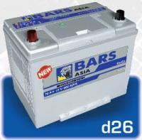 "Аккумуляторные батареи  ""Bars Азия "" 80D26 L/R"