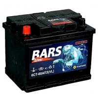 "Аккумуляторные батареи  6СТ-60 АПЗ ""Bars Silver"""