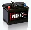 Аккумуляторные батареи   Virbac  60 A/h, 75 A/h, 90 A/h, 140 A/h, 190 A/h